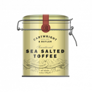 Cartwright & Butler - Sea Salted Toffees in blik - 130 gram