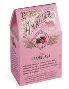 Amatller - Chocolade Bloemblaadjes met Frambozen - 72 g