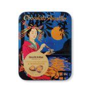 Amatller - Bloemblaadjes van melkchocolade met passievrucht in bewaarblik - 60 gram