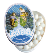 Anis de Flavigny - Anijspastilles met muntsmaak in bewaarblik - 50 gram