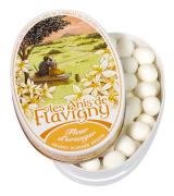 Anis de Flavigny - Anijspastilles met sinaasappelsmaak in bewaarblik - 50 gram