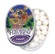 Anis de Flavigny - Anijspastilles met zwarte bessen smaak in bewaarblik - 50 gram