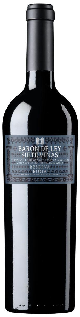 Afbeelding van Barón de Ley Reserva 7 Viñas 0,75 2010