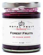 Belberry - Suikervrije bosvruchten confiture - 215 gram