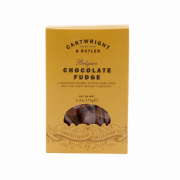 Cartwright & Butler - Belgian Chocolate Fudge in Box - 175 gram