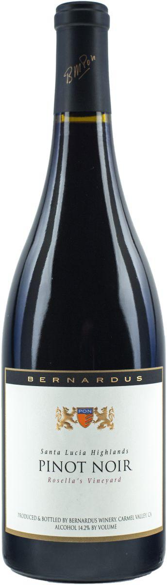 bernardus pinot noir rosellas vineyard