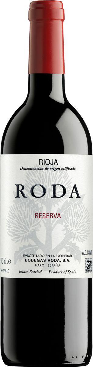 Afbeelding van Bodegas Roda Reserva 0,75 2014