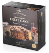 Buckingham Cakes - Klassieke fruit cake met Amaretto likeur - 280 gram