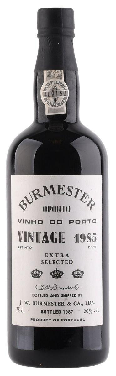 Afbeelding van Burmester Vintage Porto 0,75 1985