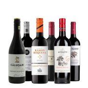 Cabernet Sauvignon Proefpakket - 6 stuks - 0.75