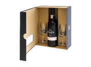 Calem Porto - 10 Years in geschenkverpakking met 2 Glazen - 0.75L - n.m.