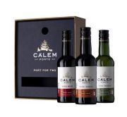 Calem Porto - Port For Two in geschenkverpakking - 3 stuks - 0.2L - n.m.