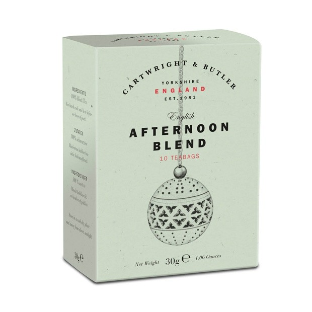 cartwright butler afternoon blend 10x3g