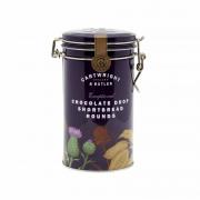 Cartwright & Butler - Zandkoekjes met chocolade druppels in bewaarblik - 200 gram