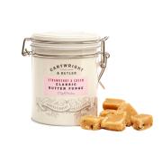 Cartwright & Butler - Butter Fudge - Aardbei en room in bewaarblik - 175 gram