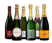 Champagne Proefpakket - 6 stuks - 0,75