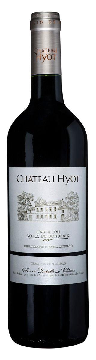 Afbeelding van Château Hyot Côtes de Castillon 0,75 2014