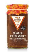Cottage Delight - Sinaasappel en Scotch Whisky marmelade - 350 gram