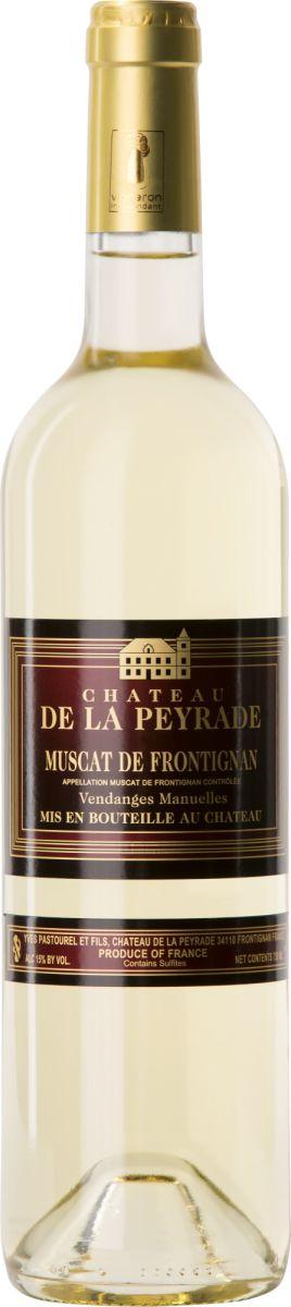 Afbeelding van Château de la Peyrade Muscat Frontignan Prestige 0,75 2017