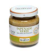 Jean Martin - Groene olijven tapenade - 110 gram