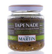 Jean Martin - Zwarte olijven tapenade - 110 gram