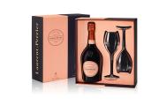Laurent Perrier - Rose Brut in cadeaudoos met twee glazen - 0.75 - n.m.
