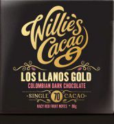 Willie's Cacao - Los Llanos Gold Colombian 70% - 50 gram