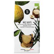 Mad Lab - Nice Boys - Koekjes met geconfijte citroen, hazelnoot en rozemarijn BIO - 110 gram