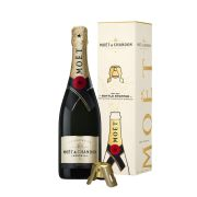 Moët & Chandon - Brut Impérial met Bottle Stopper in Giftbox - 0.75 - n.m.