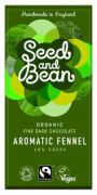 Seed & Bean - Pure Chocolade 58% - Venkel - 85 g
