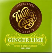 Willie's Cacao - Puur Ginger Lime - Sierre Leone - 50 gram