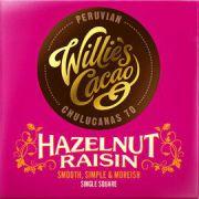 Willie's Cacao - Puur Hazelnoten & Rozijnen Peruvian - 50 g