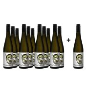 Weingut Rudolf Hofmann Bulle Grüner Veltliner - voordeelpakket - 11+1 gratis - 0.75 - 2019
