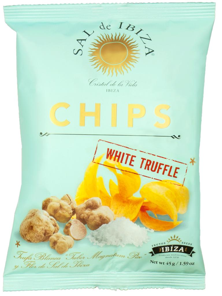 sal de ibiza chips witte truffel