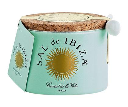 sal de ibiza fleur de sel keramische pot 150g