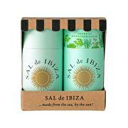 Sal de Ibiza - Zeezout puur en zeezout met mediterraanse kruiden in geschenkverpakking