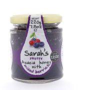 Sarah's Honey - 2 soorten Bessen - 220 gram