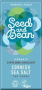 Seed & Bean - Pure Chocolade 70% - Zeezout - 85 g