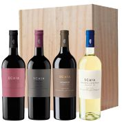 Tenuta Sant'Antonio - 4 flessen Scaia in houten kist - 0,75