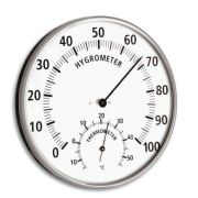 Thermometer - Thermo- & Hygrometer - 132mm