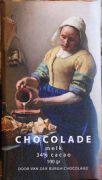 Van der Burgh - Het Melkmeisje - Melkchocolade 34% - 100 gram