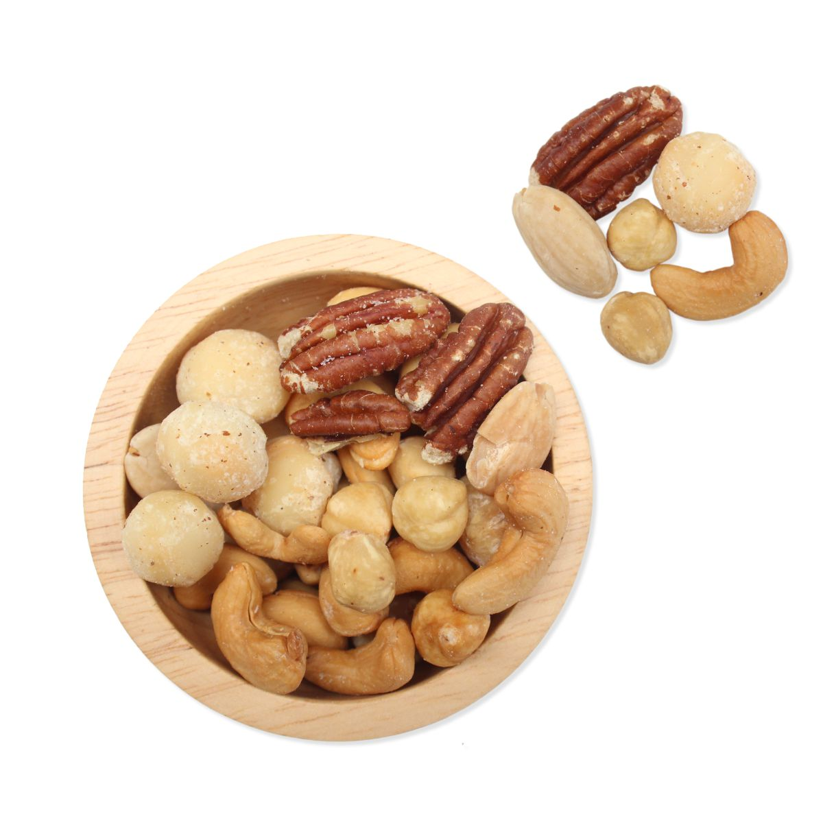 versgebrande noten huismix