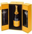 Veuve Clicquot - Brut in giftbox met twee glazen - 0.75 - n.m.