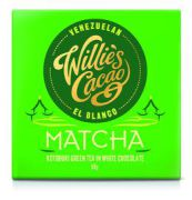 Willie's Cacao - White chocolate Matcha Green Tea - 50 g