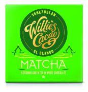 Willie's Cacao - White chocolate Matcha Green Tea - 50 gram