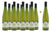 Wijngoed Thorn - Riesling - voordeelpakket - 11+1 gratis - 0.75 - 2018