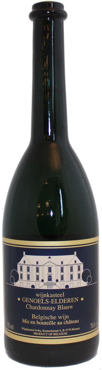wijnkasteel genoelselderen chardonnay blauw