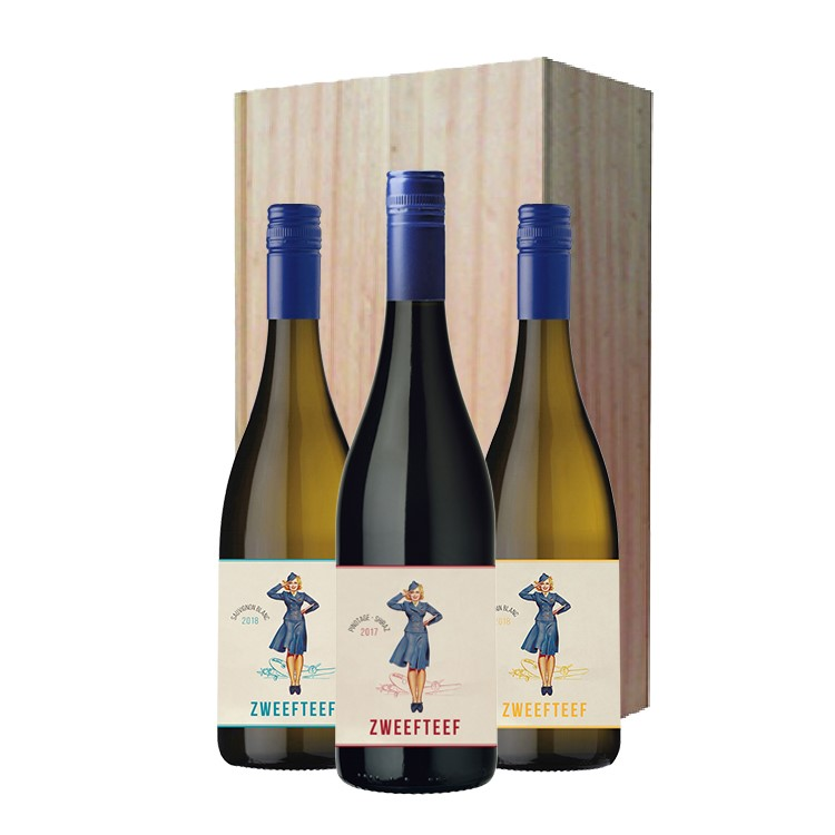 wijnkist met zweefteef wijnen