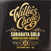 Willie's Cacao - Indonsian Gold 69% - Surabaya - 50 g