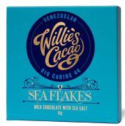 Willie's Cacao - Melkchocolade 44% met zeezoutvlokken - Rio Caribe - Venezuela - 50 gram